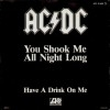 You Shook Me All Night Long  [Single]