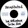 Live Nottingham 20 Dec 2004  [Live]