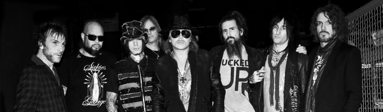 36d5d003c Guns N' Roses - koncerty 2019, diskografie, trička | Rockem.sk