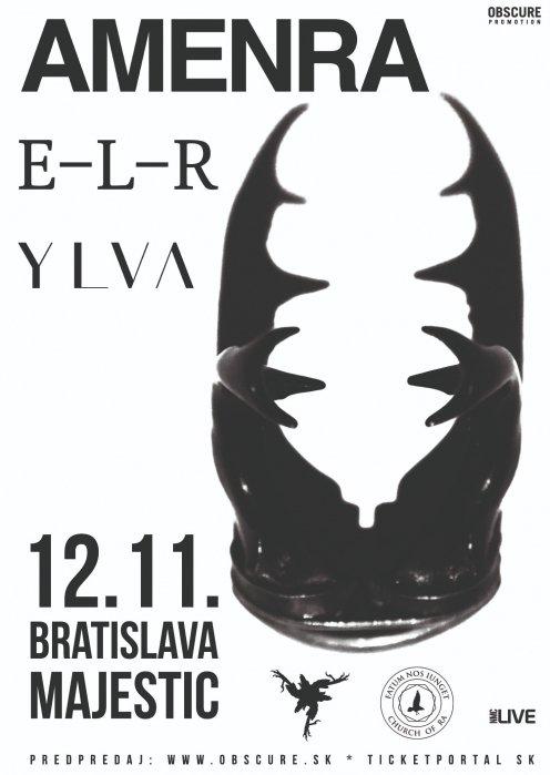 AMENRA, E-L-R, YLVA (Bratislava)