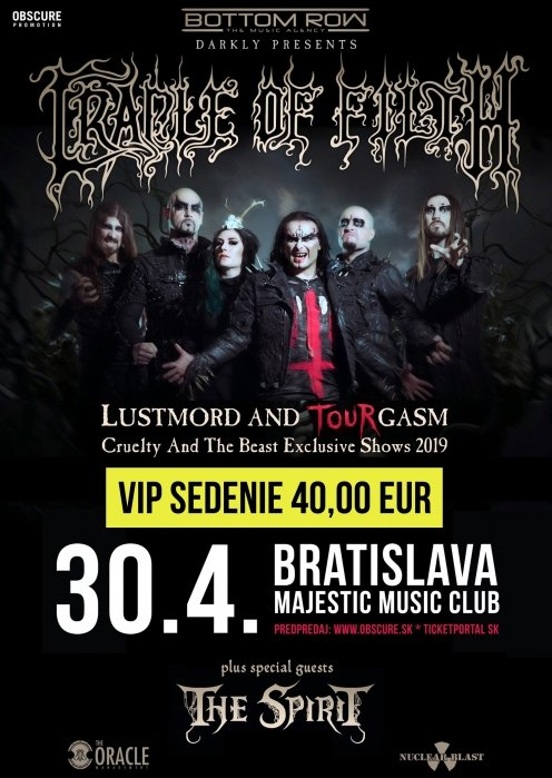 CRADLE OF FILTH, The Spirit