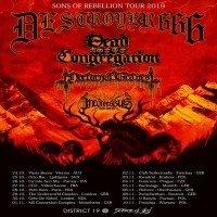 Deströyer 666: Sons Of Rebellion Tour 2019
