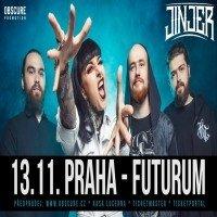 Jinjer: Praha 2019