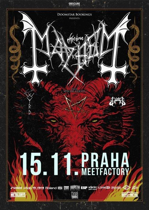 MAYHEM, Gaahls WYRD, Gost - Praha