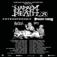 Napalm Death: Campaign For Musical Destruction Tour 2020