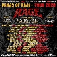 Rage & Serenity: Wings Of Rage European Tour 2020 Praha