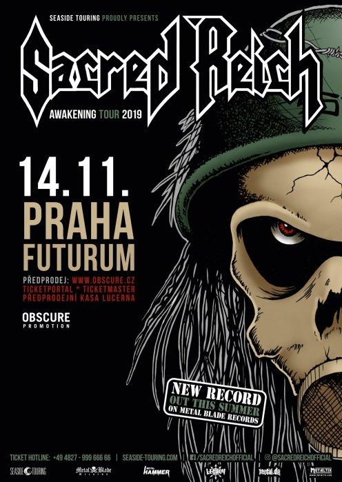 SACRED REICH Praha 2019