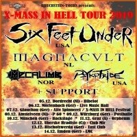 Six Feet Under - X-Mass In Hell 2019