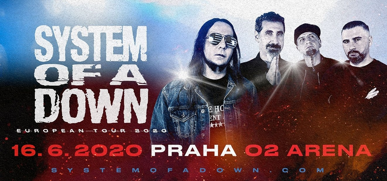 System Of A Down - Praha 2020