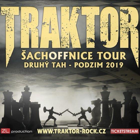 Traktor - Šachoffnice tour - druhý tah - podzim 2019 Tábor