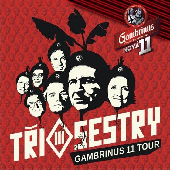 Tři Sestry - Gambrinus 11 tour + E!E, SPS  - Sedlčany